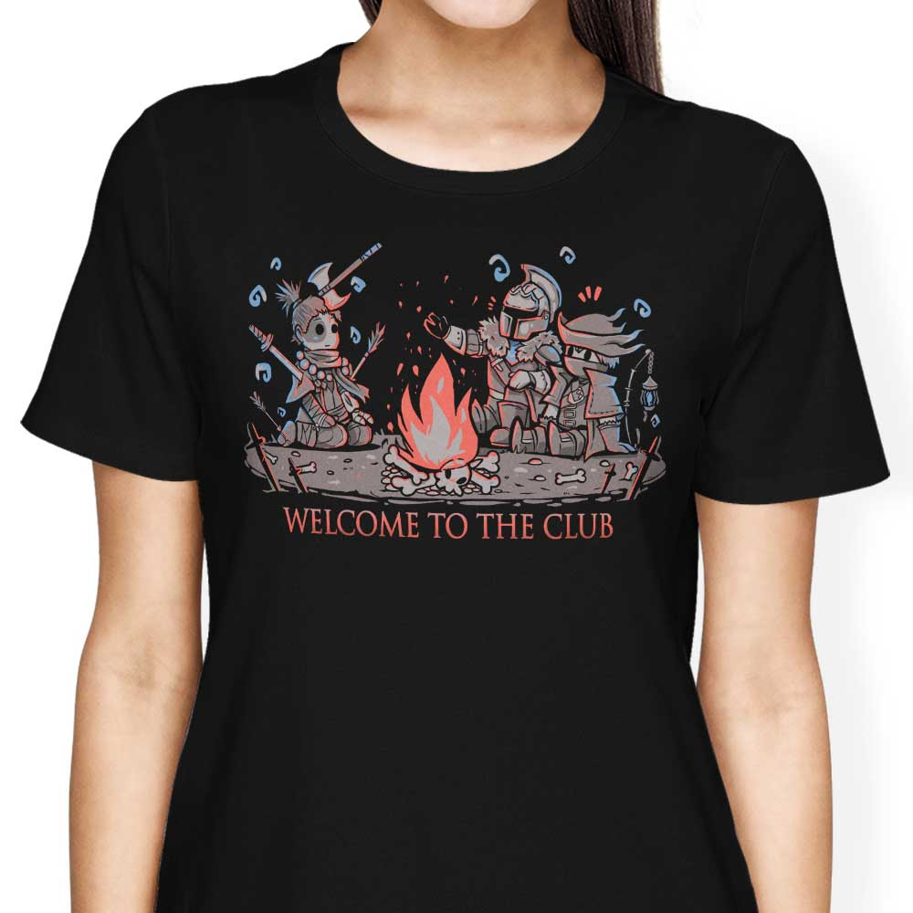 Welcome to the Club - Women's Apparel