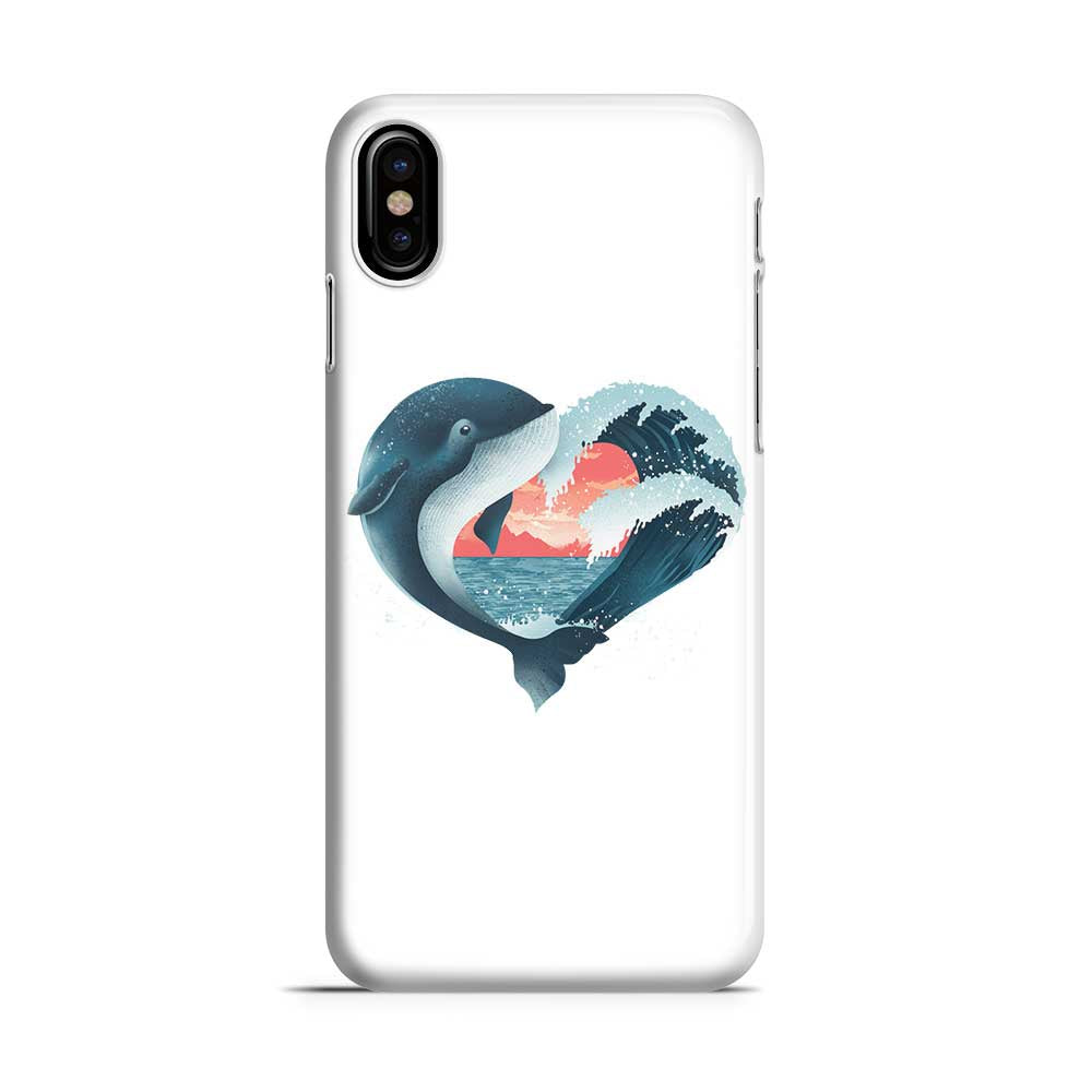 Whale Love - Phone Case