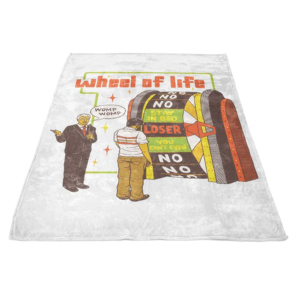 Wheel of Life - Fleece Blanket