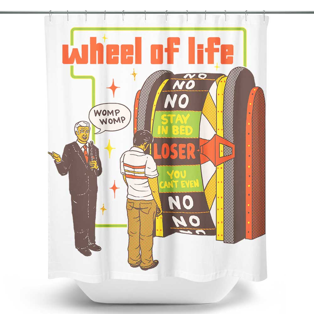 Wheel of Life - Shower Curtain