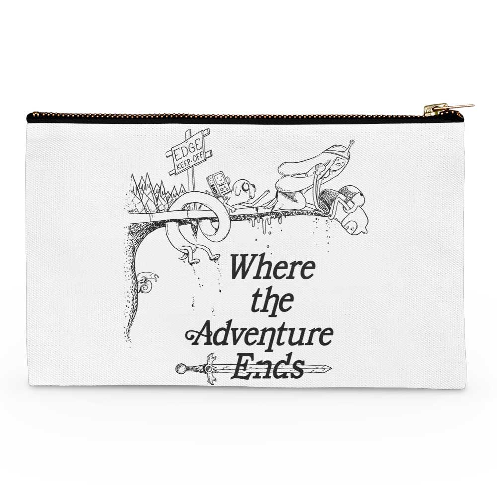 Where the Adventure Ends - Accessory Pouch