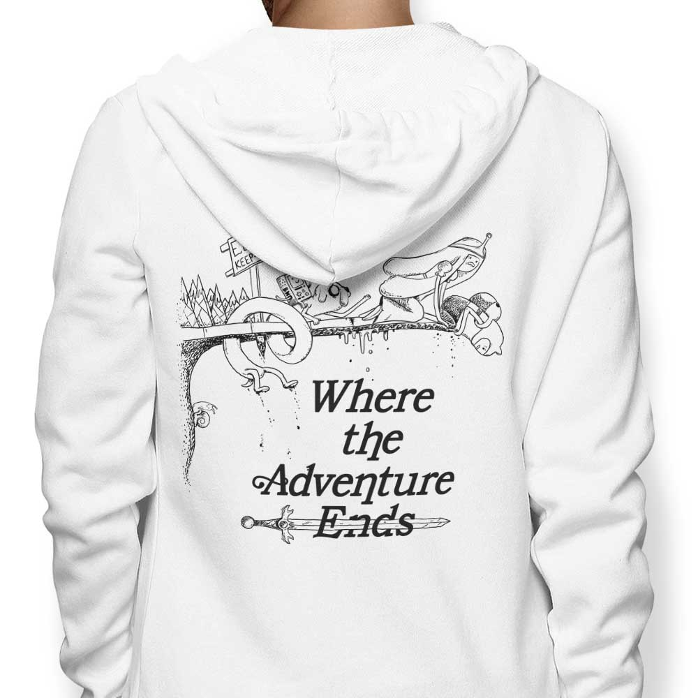 Where the Adventure Ends - Hoodie