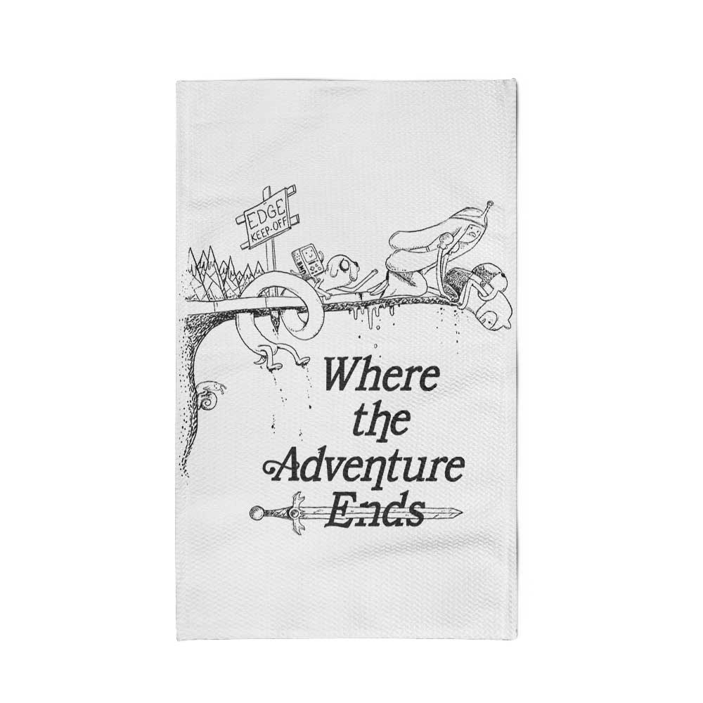 Where the Adventure Ends - Rug