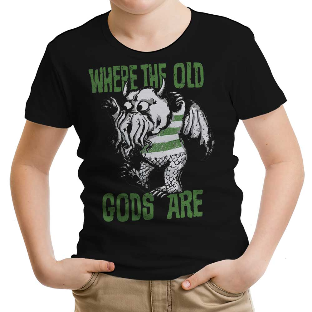 Where the Old Gods Are - Youth Apparel