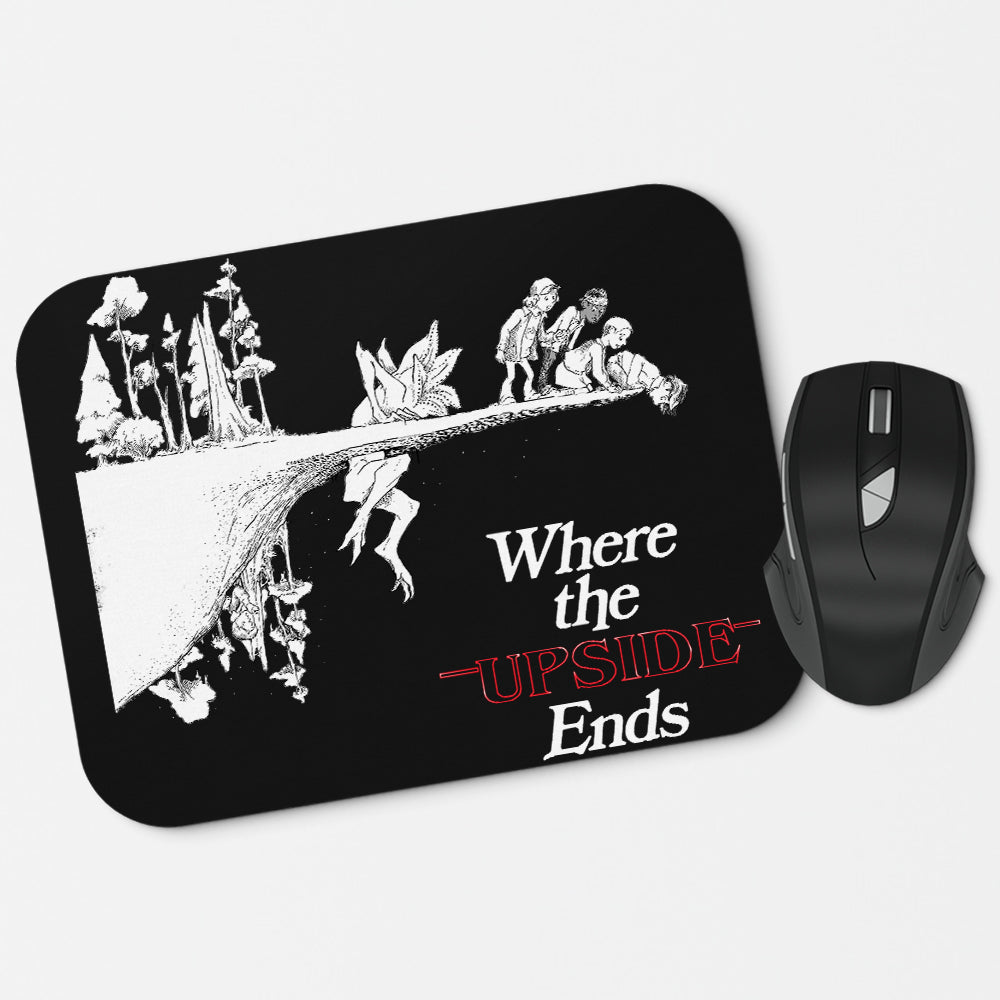 Where the  Upside Ends (Alt) - Mousepad