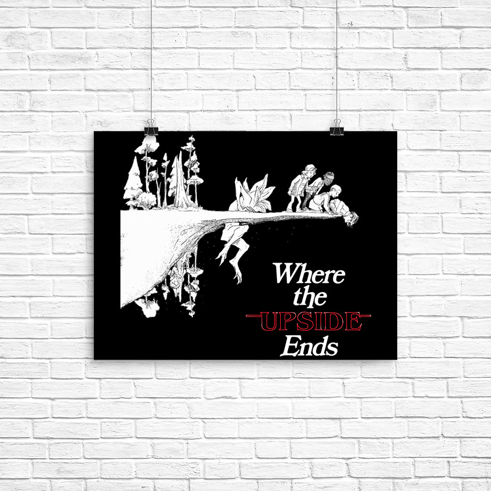 Where the  Upside Ends (Alt) - Poster