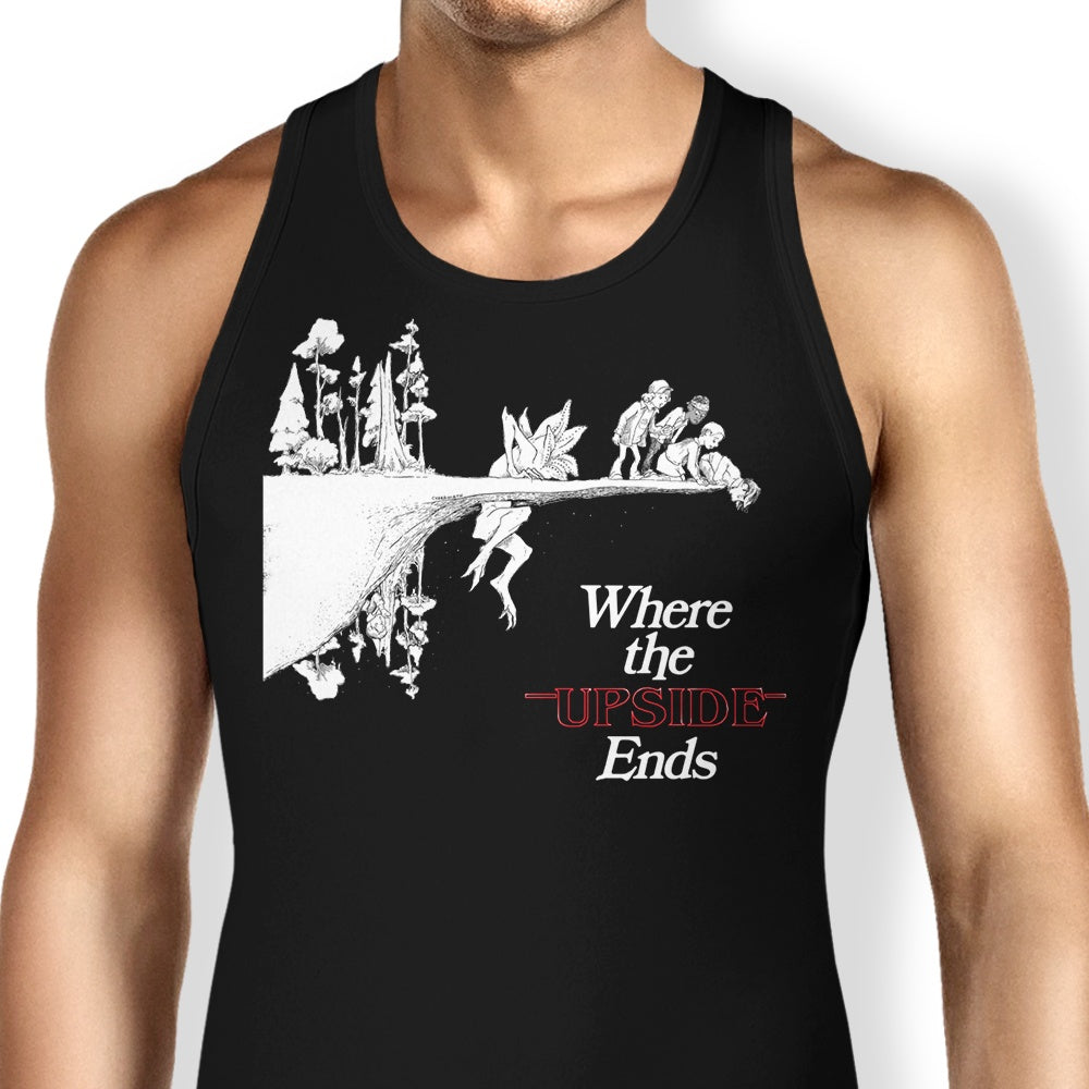 Where the  Upside Ends (Alt) - Tank Top