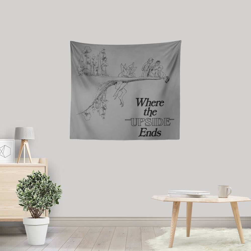 Where the Upside Ends - Wall Tapestry