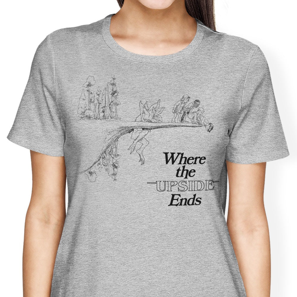 Where the Upside Ends - Women's Apparel