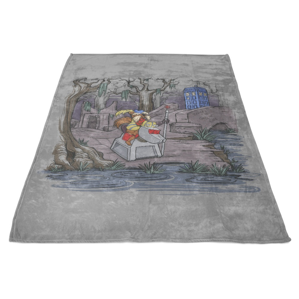 Who Shall Not Pass - Fleece Blanket
