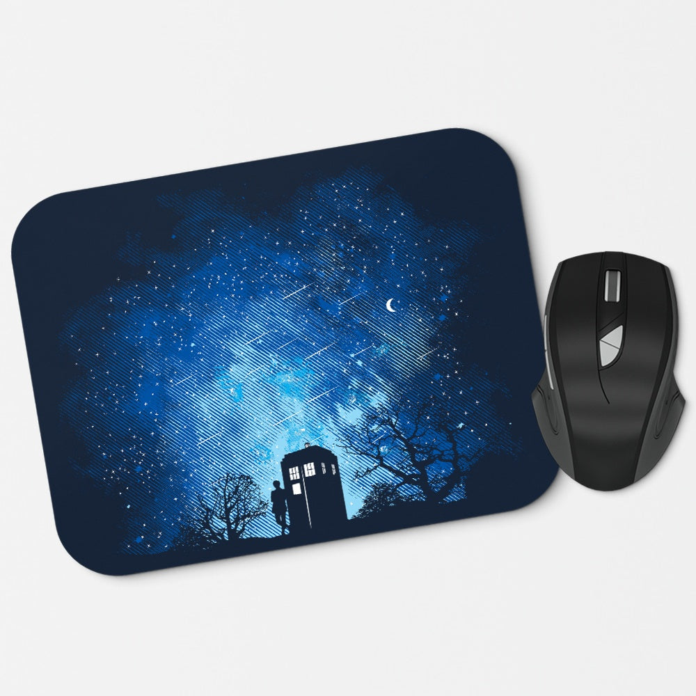 Who's World - Mousepad