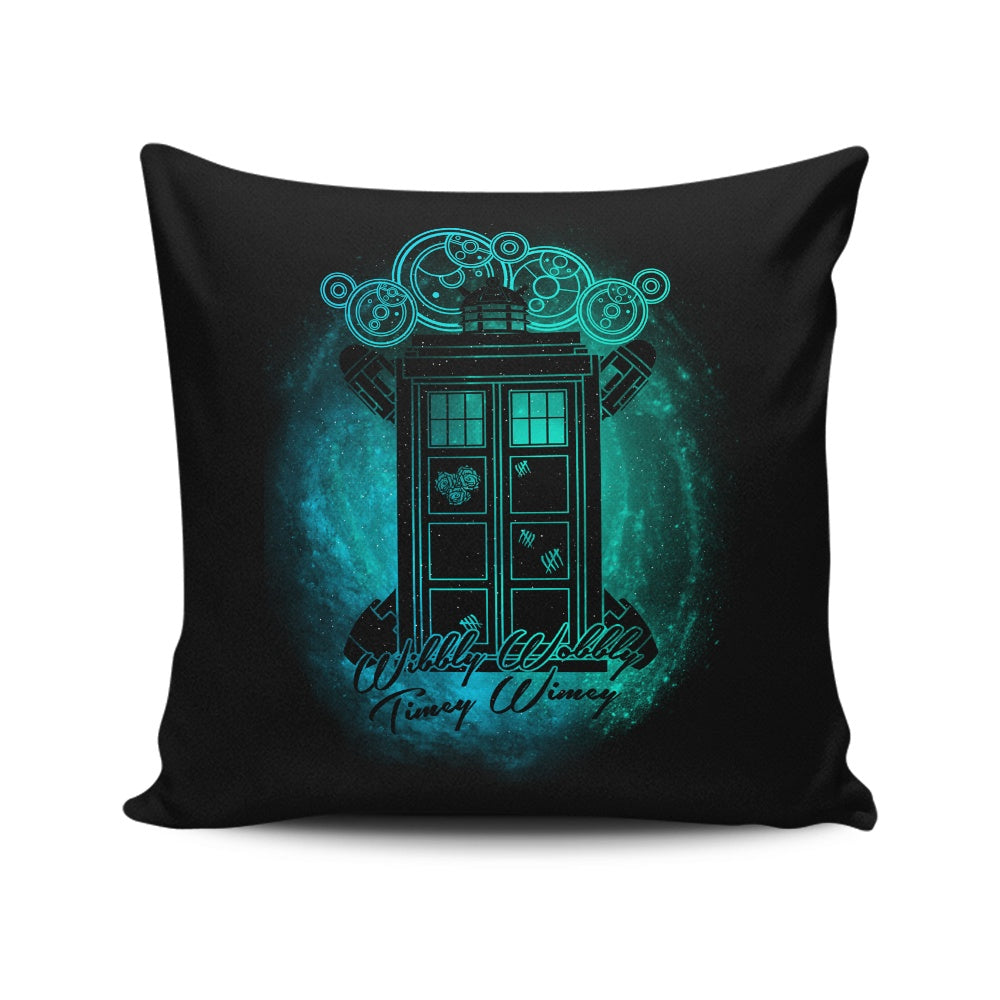 Wibbly Wobbly - Throw Pillow