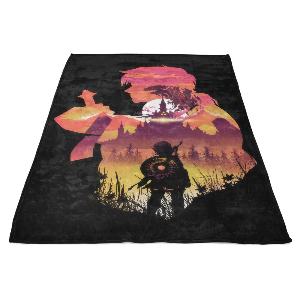 Wild Sunset - Fleece Blanket