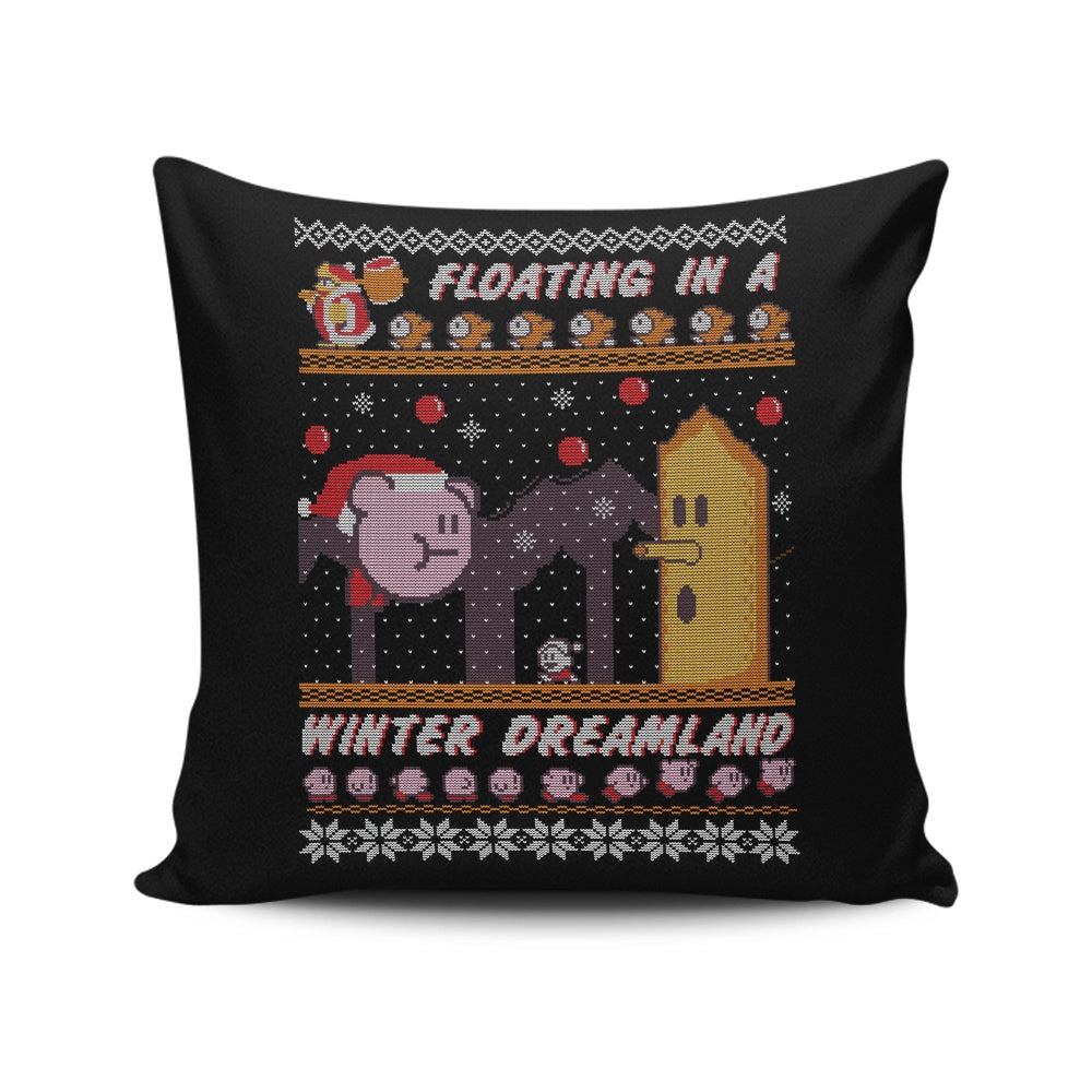 Winter Dreamland - Throw Pillow
