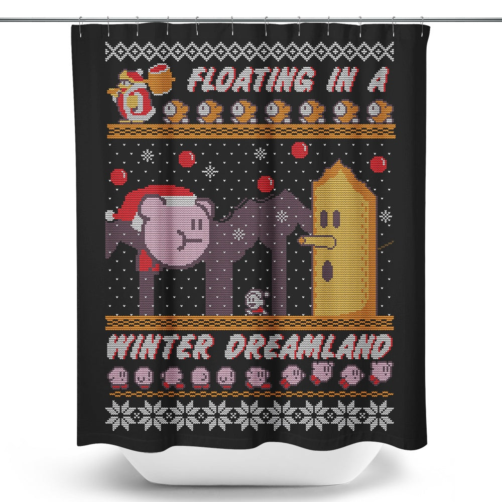 Winter Dreamland - Shower Curtain