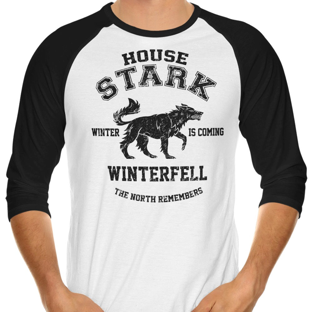 Winter is Coming (Alt) - 3/4 Sleeve Raglan T-Shirt
