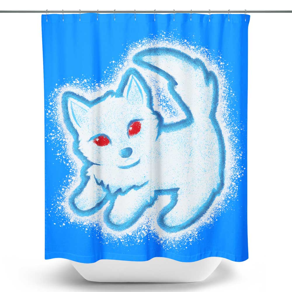 Winter King - Shower Curtain