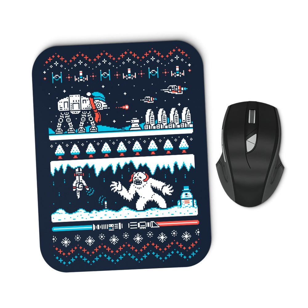 Winter Strikes Back - Mousepad