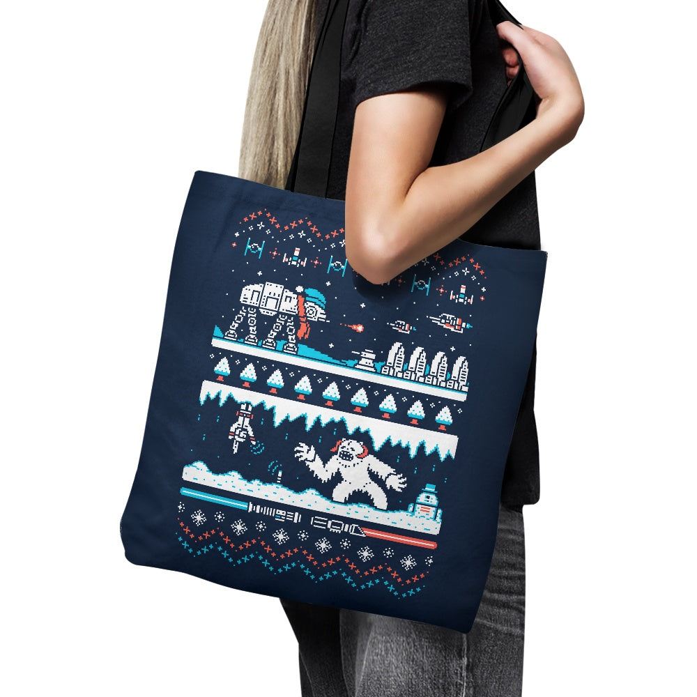 Winter Strikes Back - Tote Bag