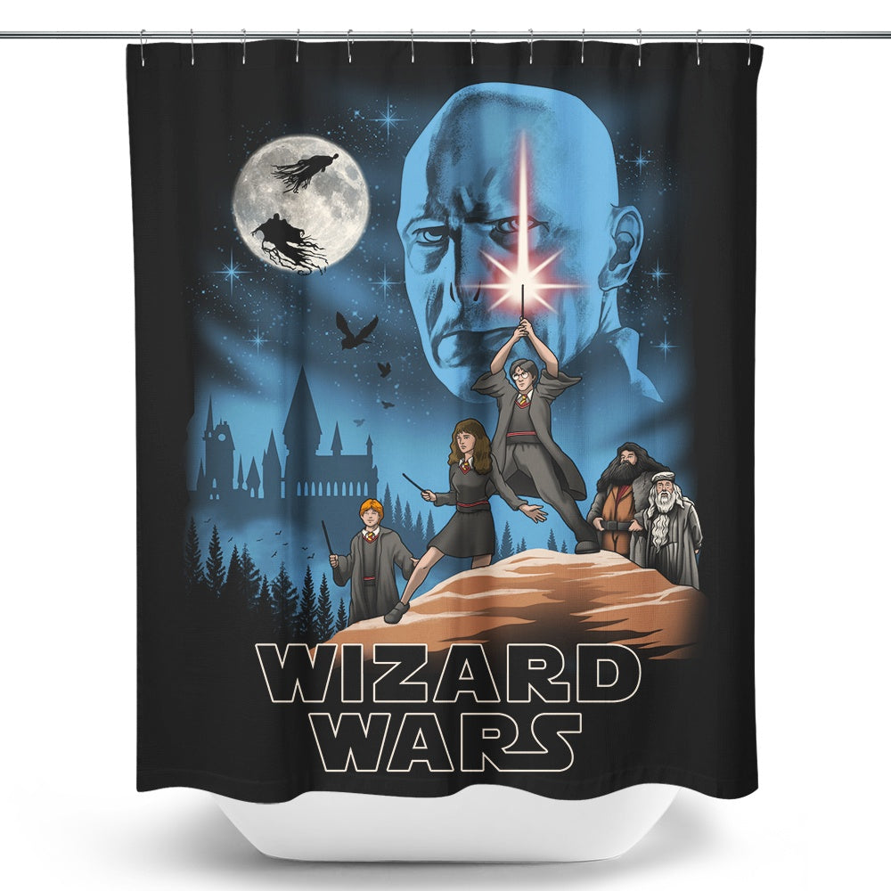 Wizard Wars - Shower Curtain