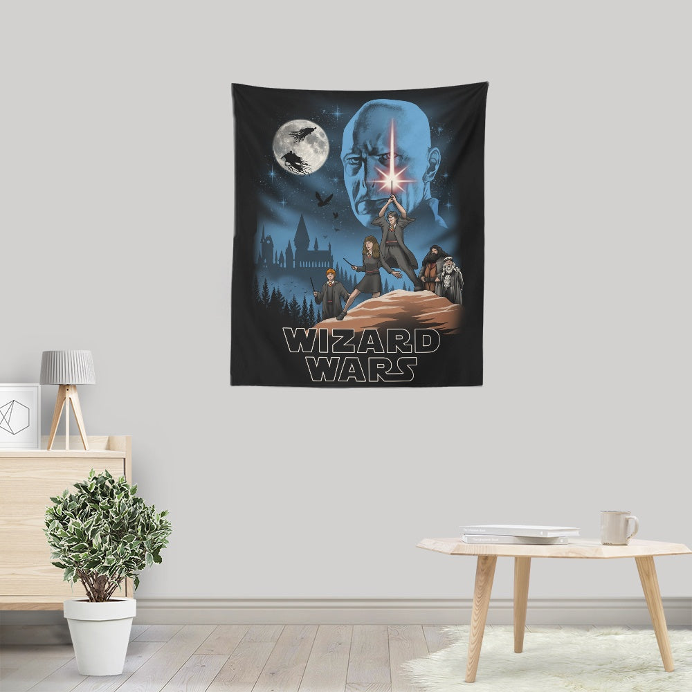 Wizard Wars - Wall Tapestry