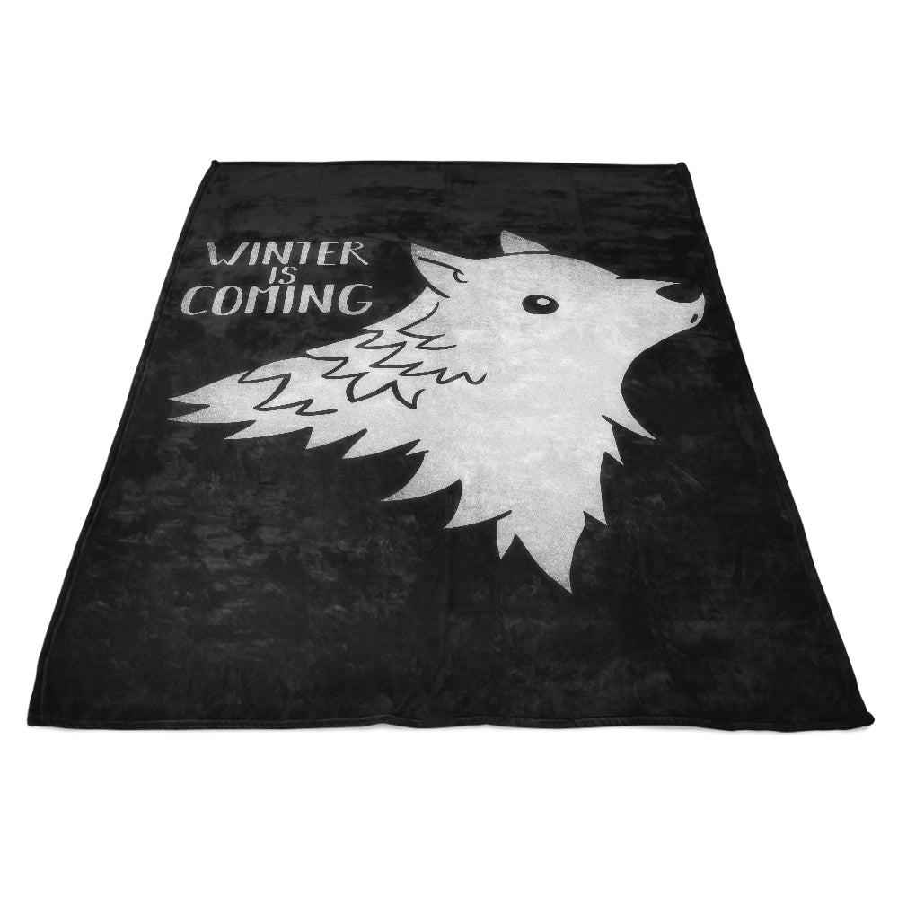 Wolf Kawaii - Fleece Blanket