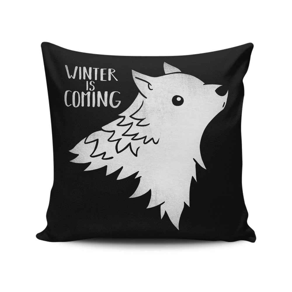 Wolf Kawaii - Throw Pillow