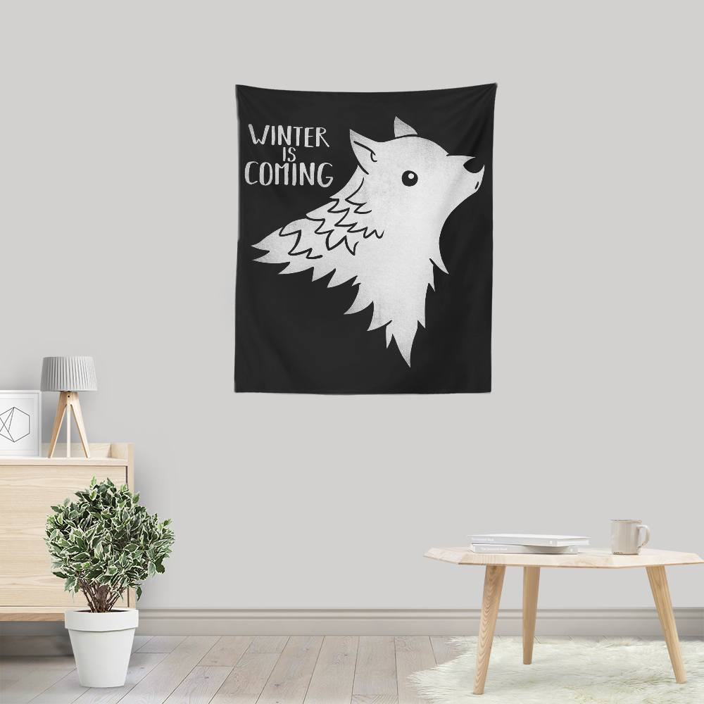 Wolf Kawaii - Wall Tapestry