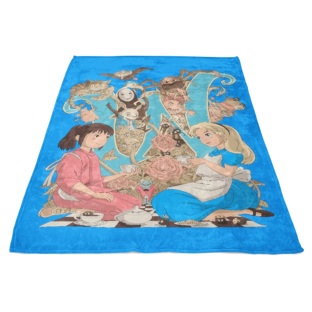 Wonderlands - Fleece Blanket