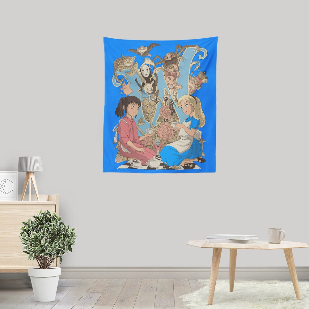 Wonderlands - Wall Tapestry