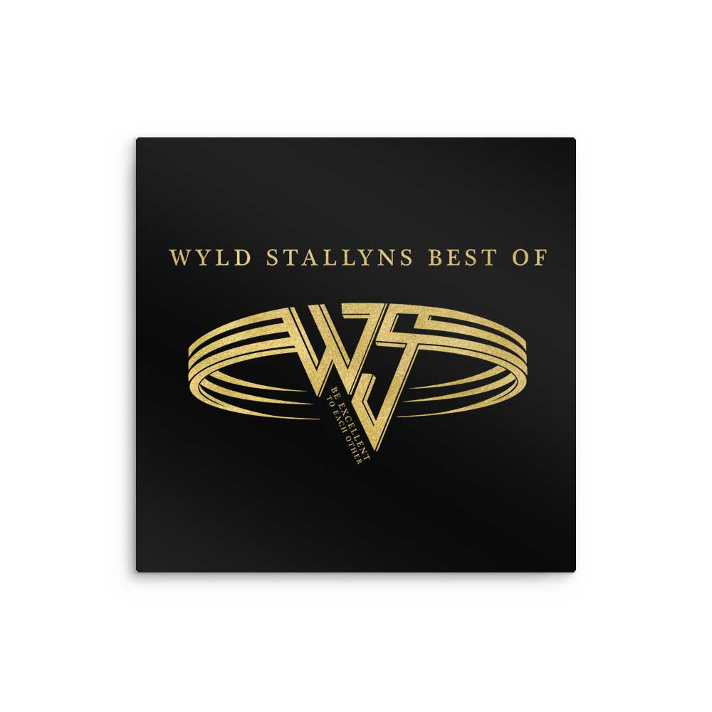 Wyld Stallyns Best Of - Metal Print
