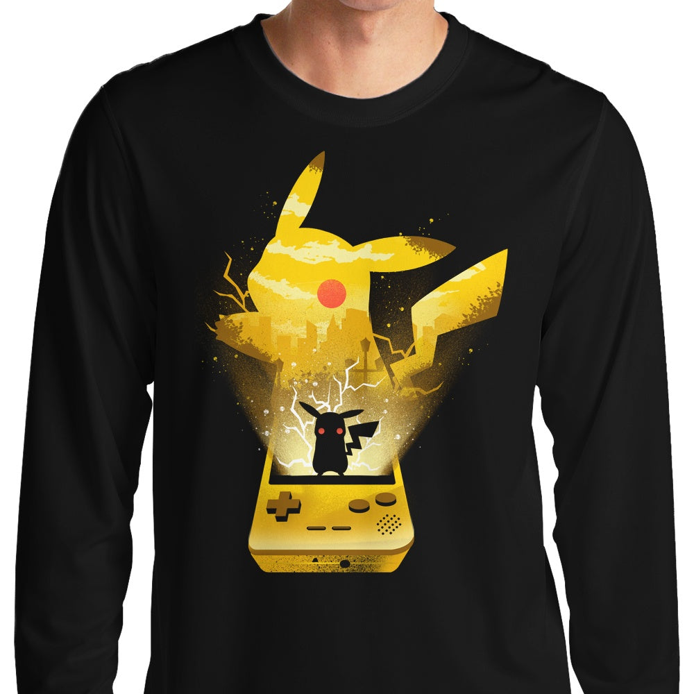 Yellow Pocket Gaming - Long Sleeve T-Shirt