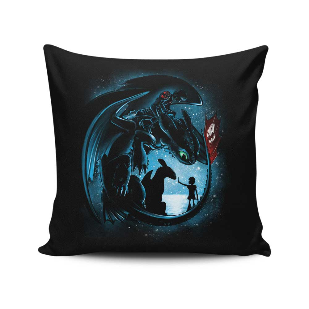 Yesterday and Tomorrow - Throw Pillow