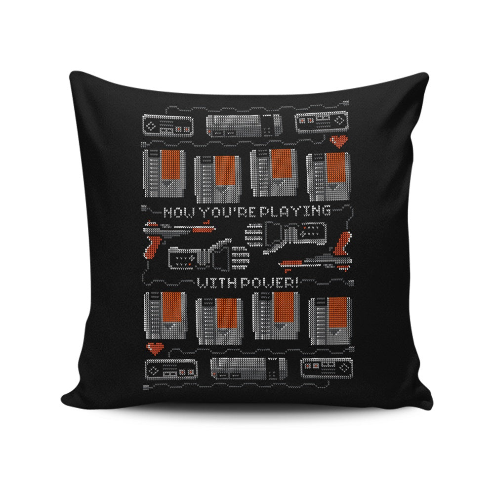 You're Playing with Power - Throw Pillow
