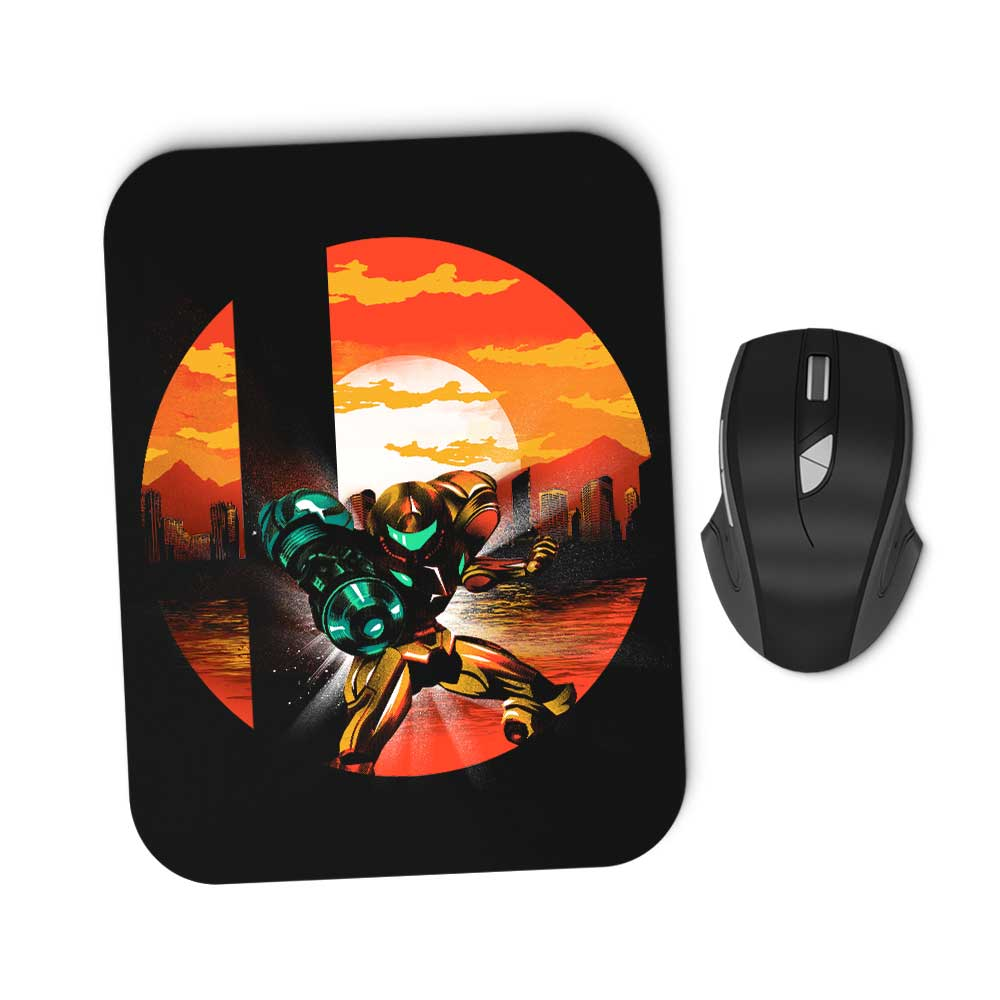 Zebes Smash - Mousepad