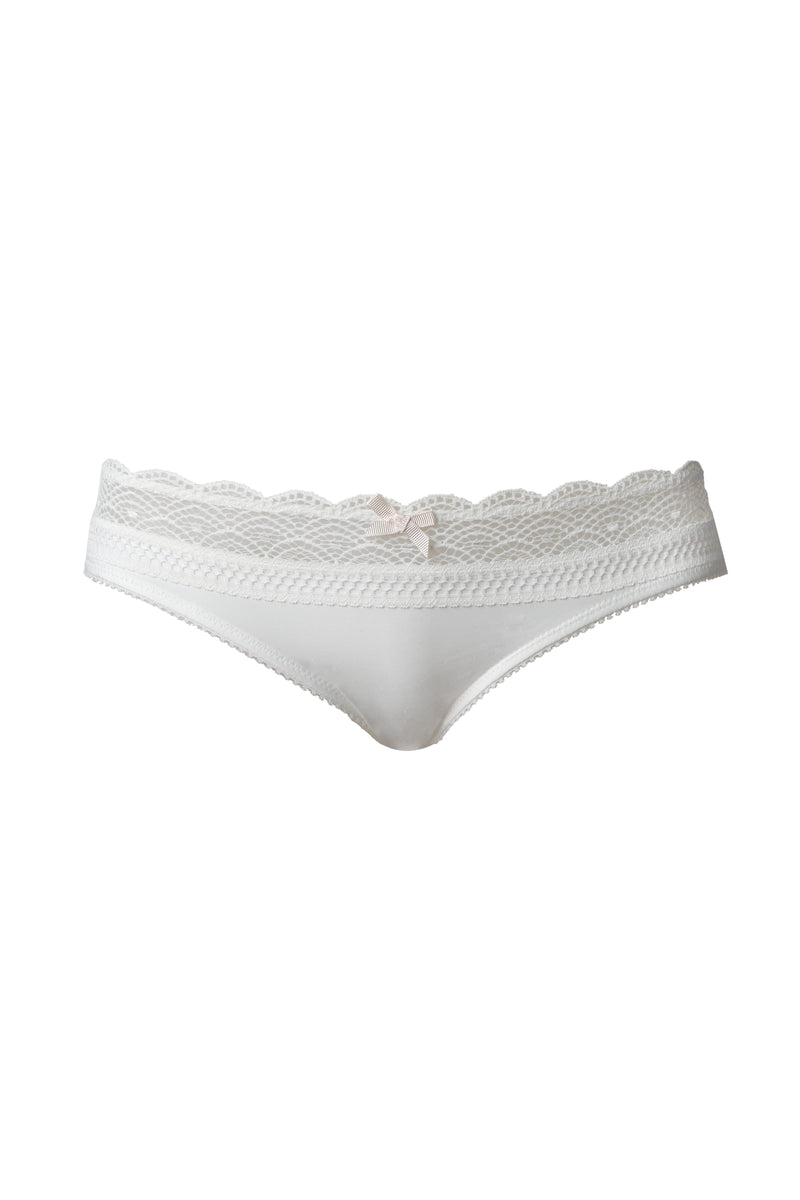 HOTMILK SHOW OFF IVORY BIKINI BRIEF