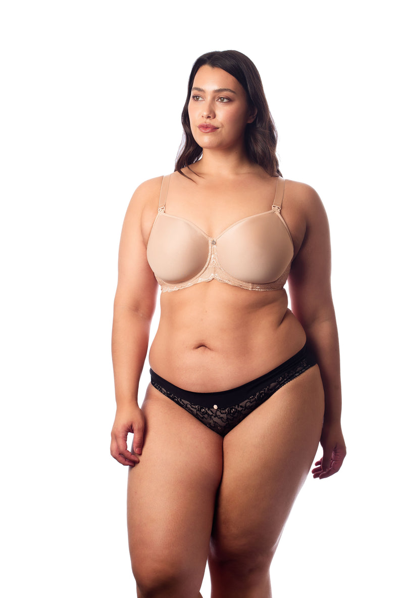 OBSESSION FULLER CUP NURSING BRA HOTMILK nude
