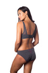 HOTMILK TEMPTATION GRAPHITE NURSING PREGNANCY FLEXIWIRE BRA AND MATCHING KNICKER