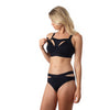 Defy recycled nylon bikini brief by Hotmilk for pregnancy with Defy Crop Nursing bra