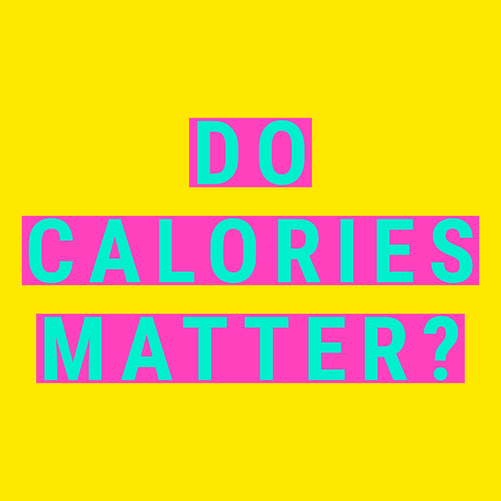 Do Calories Matter On a Weight Loss Journey?