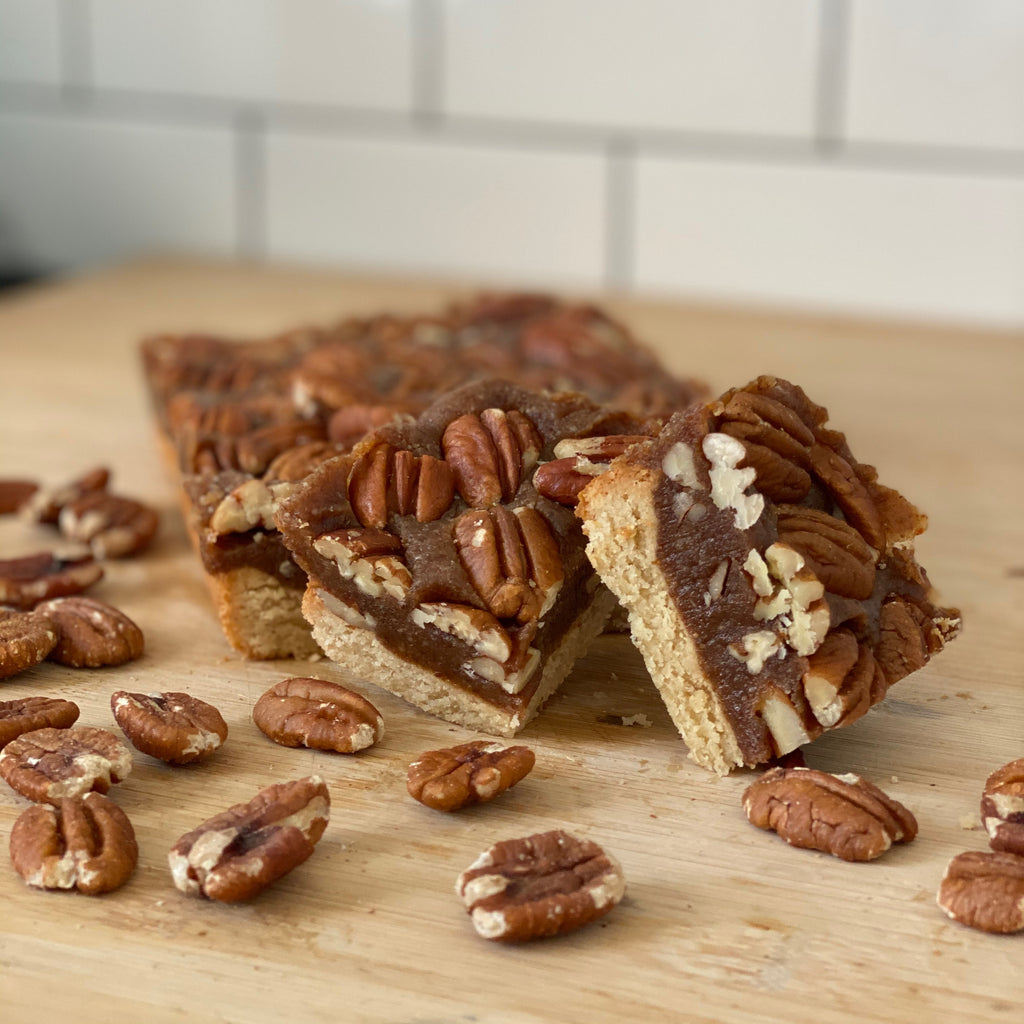 Our Healthy Humble Pecan Slice