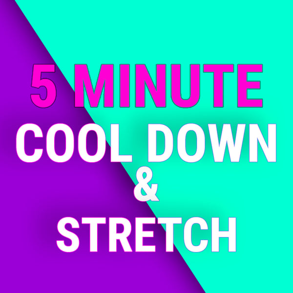 5 Minute Feel Good Post Workout Cool Down & Stretch