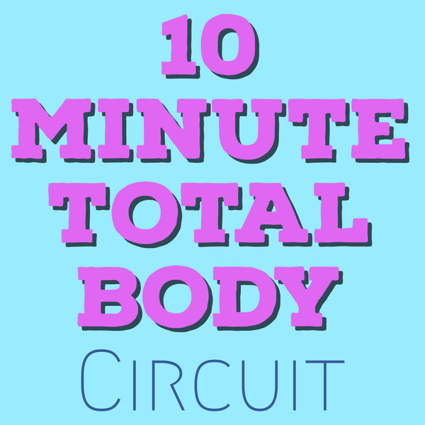 Full Body Circuit WALKOUT - 10 minutes to get a sweat!
