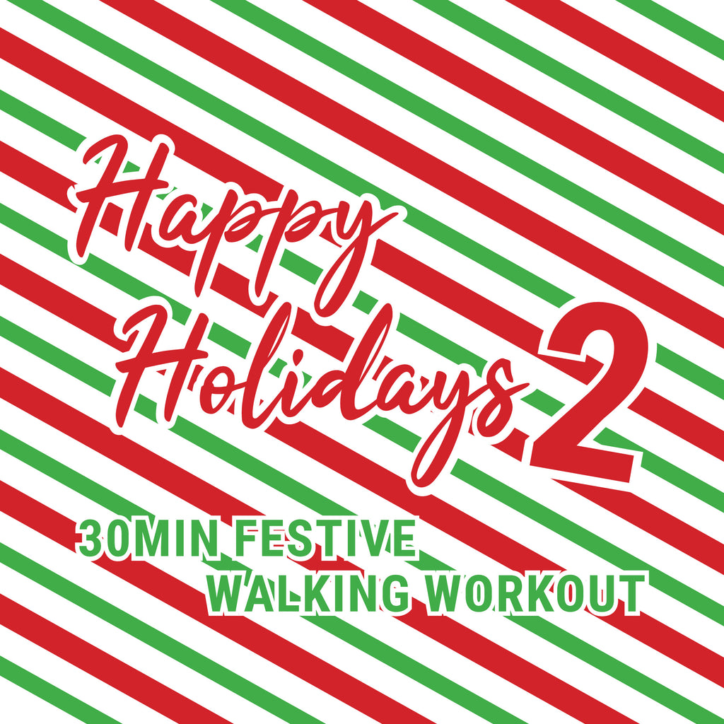 Dance That Walk 🎄 30 Min Holiday Walking Workout