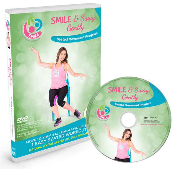 Smile & Sway Gently Seated Workout DVD