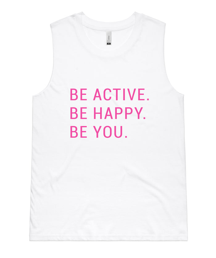 BE active tanks - White