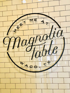 A Visit to Magnolia Table...