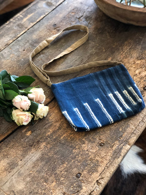 Indigo Cross Body Bag