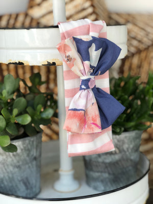 Lovely Lilac Bow Headband