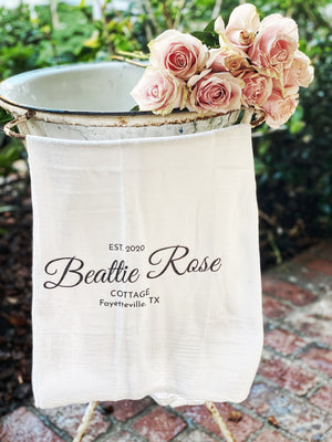 Beattie Rose Flour Sack Towel